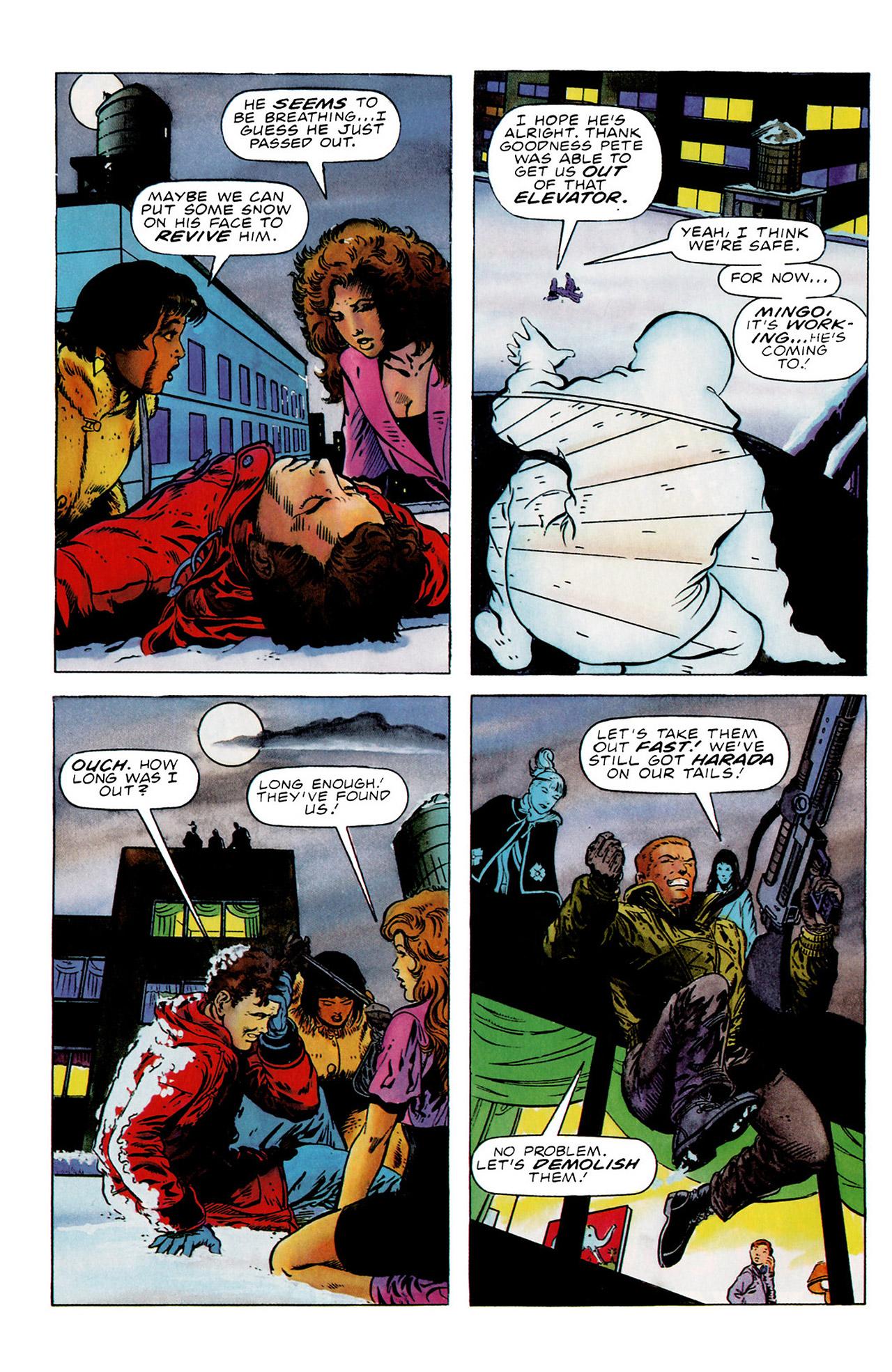 Read online Harbinger (1992) comic -  Issue #16 - 8