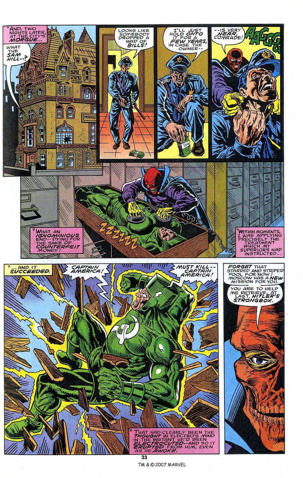 Read online Captain America (1968) comic -  Issue # _Annual 13 - 35