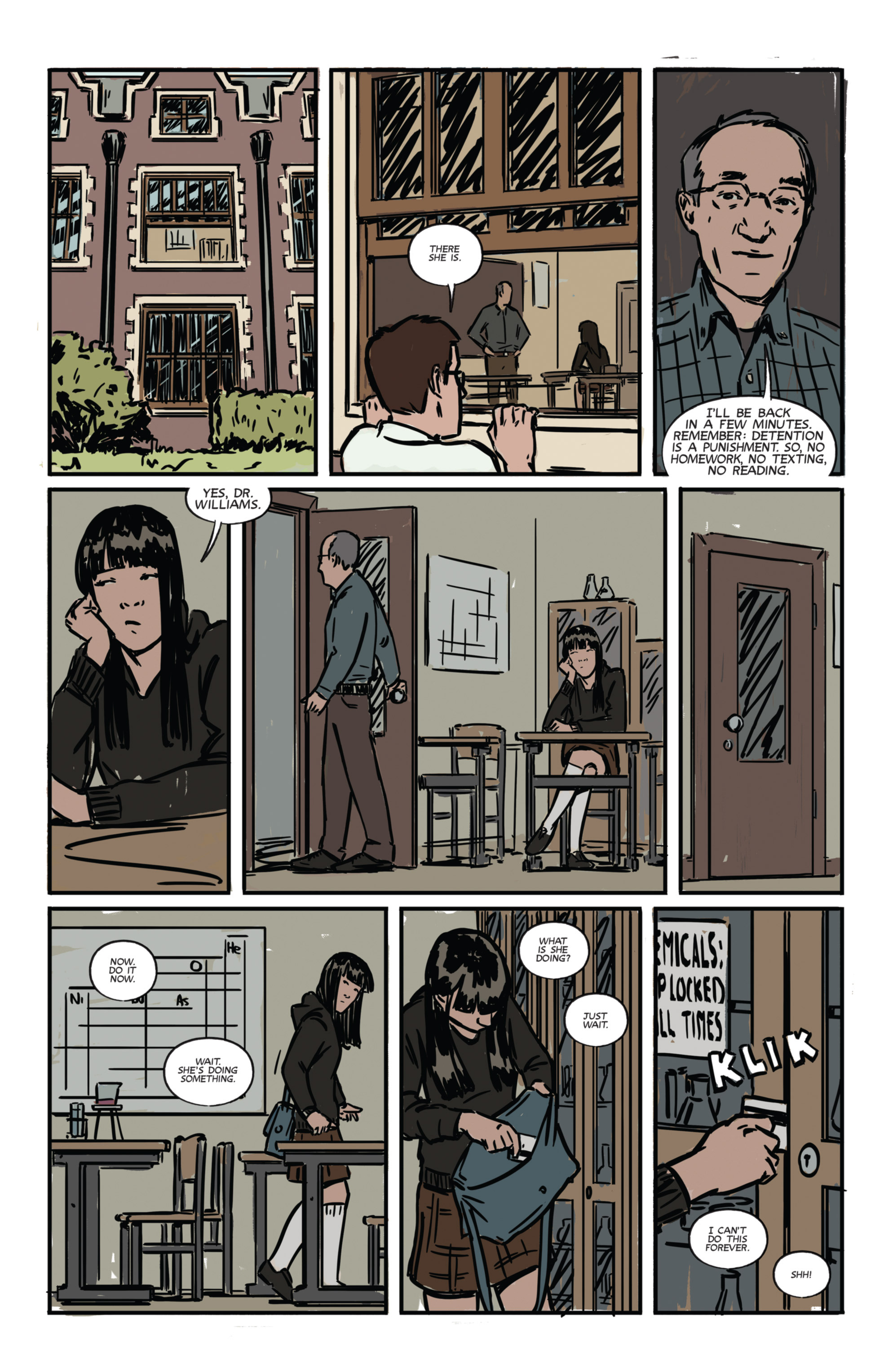 Read online Night Owl Society comic -  Issue #1 - 20