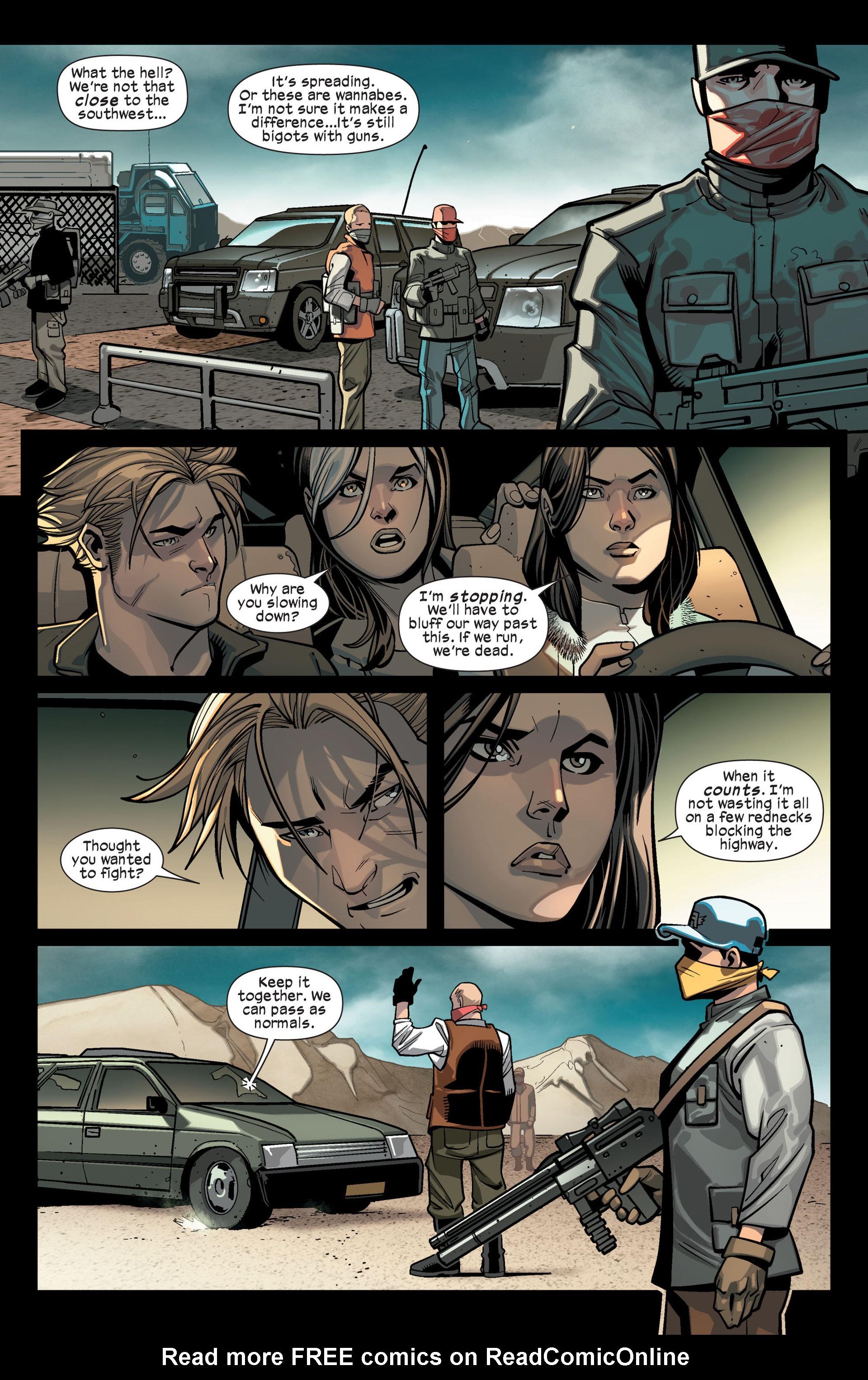 Read online Ultimate Comics X-Men comic -  Issue #14 - 15