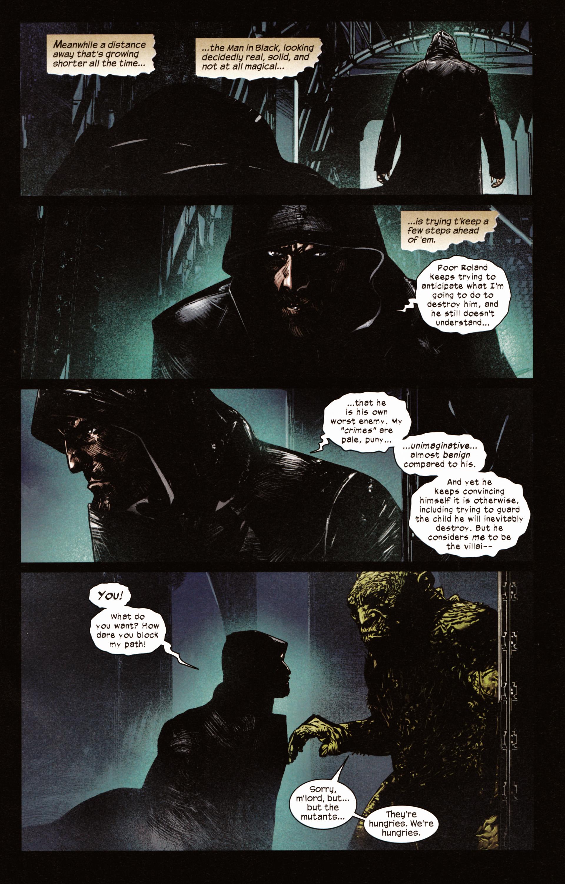 Read online Dark Tower: The Gunslinger - The Man in Black comic -  Issue #2 - 6