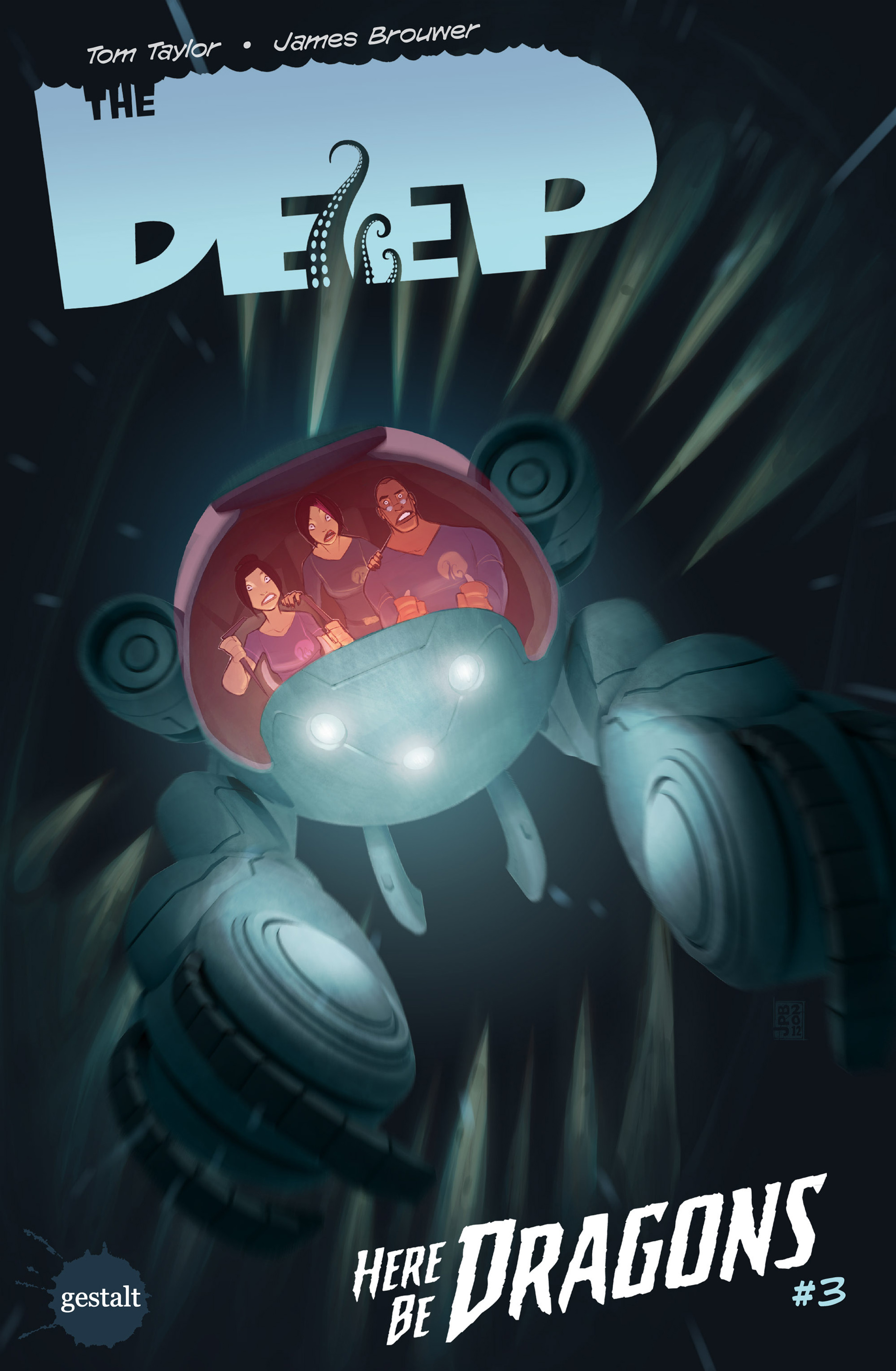 The Deep: Here Be Dragons issue 3 - Page 1