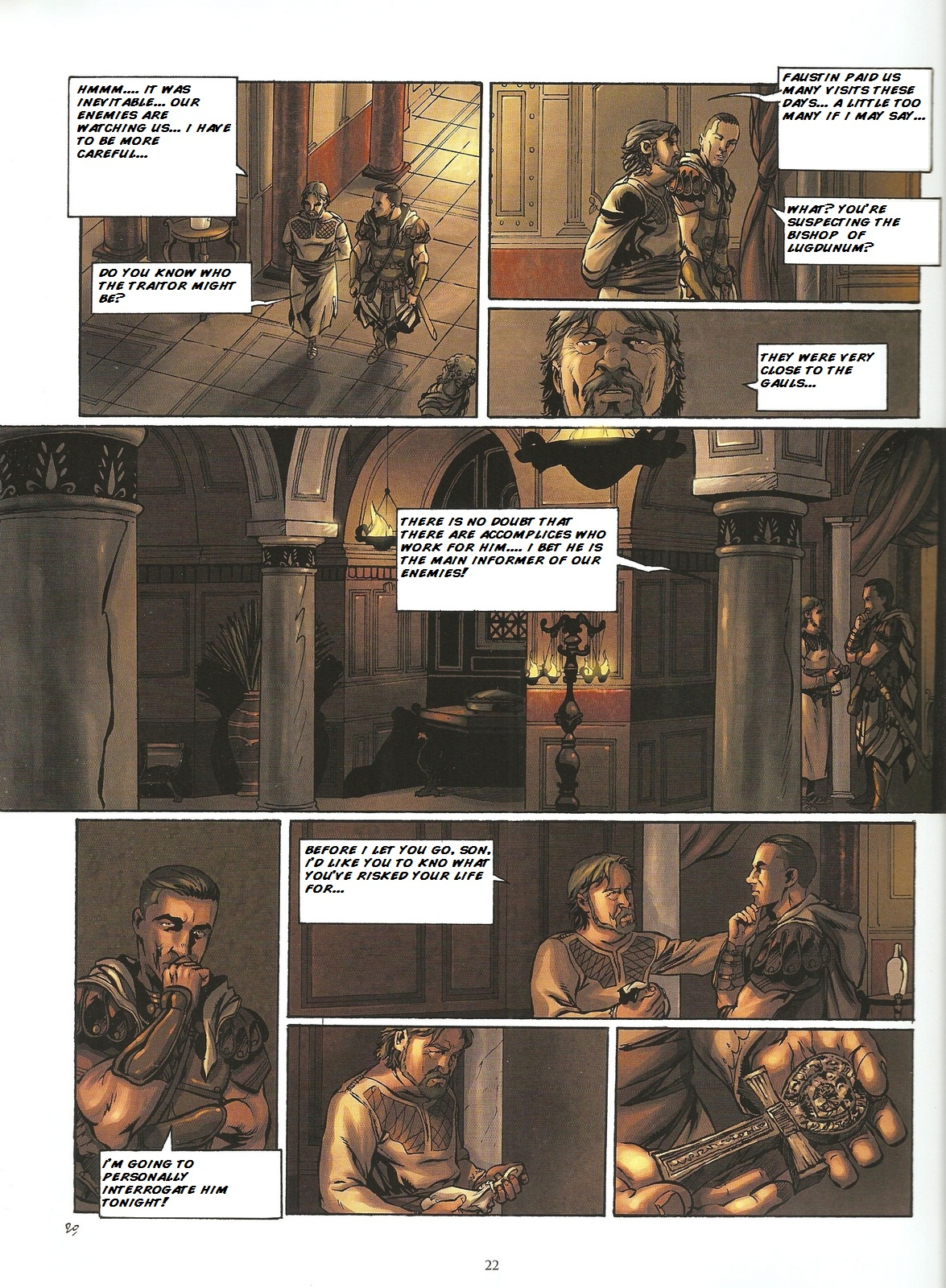 Read online Assassin's Creed (2009) comic -  Issue #2 - 22