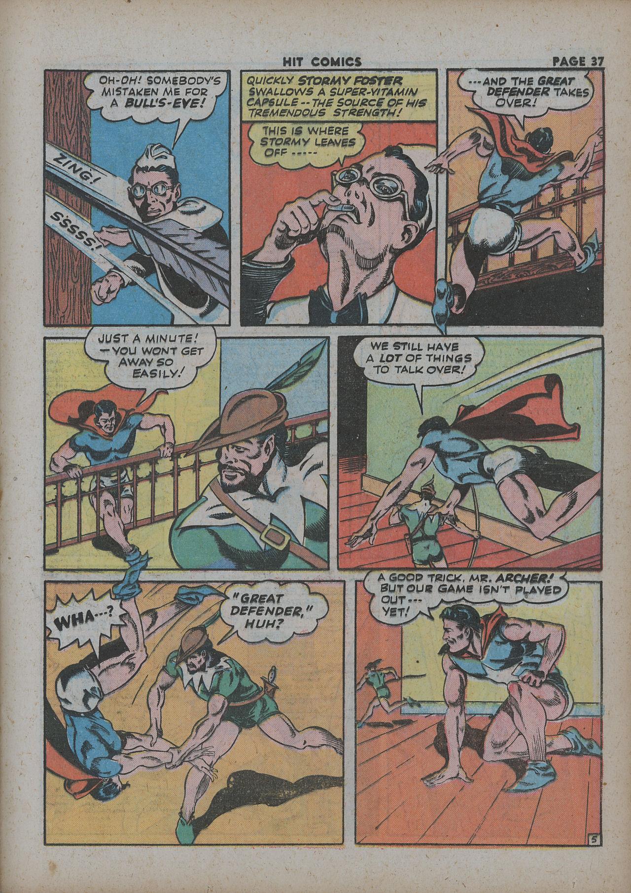 Read online Hit Comics comic -  Issue #27 - 39