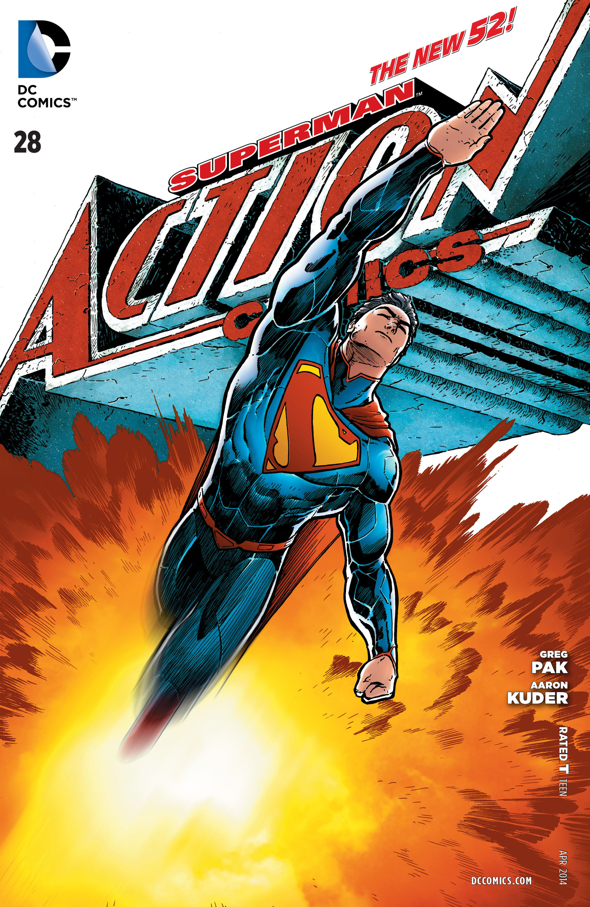 Read online Action Comics (2011) comic -  Issue #28 - 1