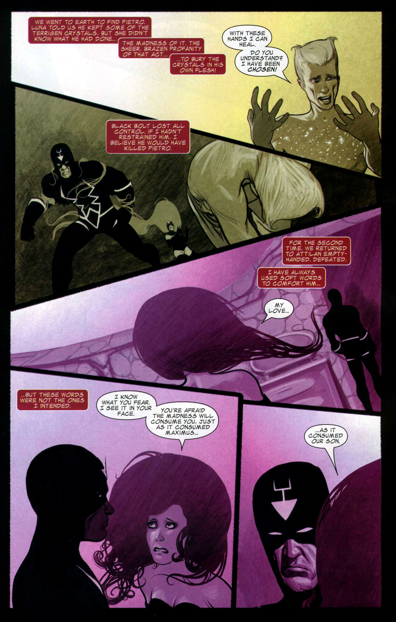 Read online Silent War comic -  Issue #4 - 4
