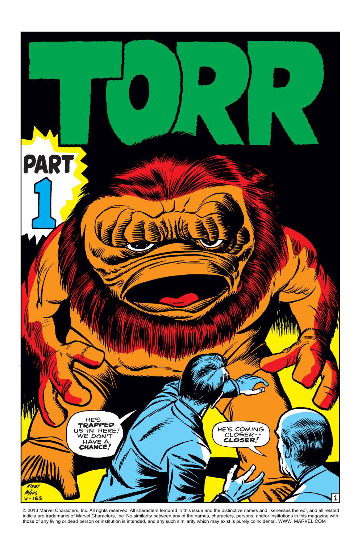 Read online Amazing Adventures (1961) comic -  Issue #1 - 2