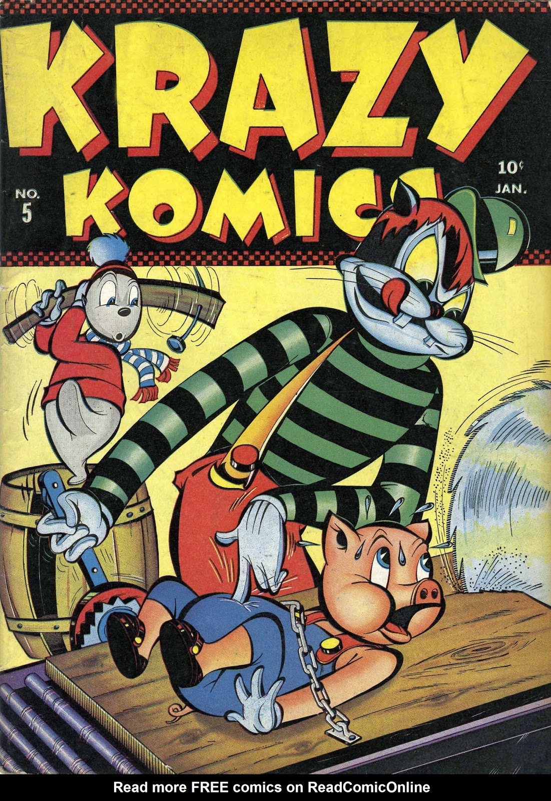Krazy Komics issue 5 - Page 1