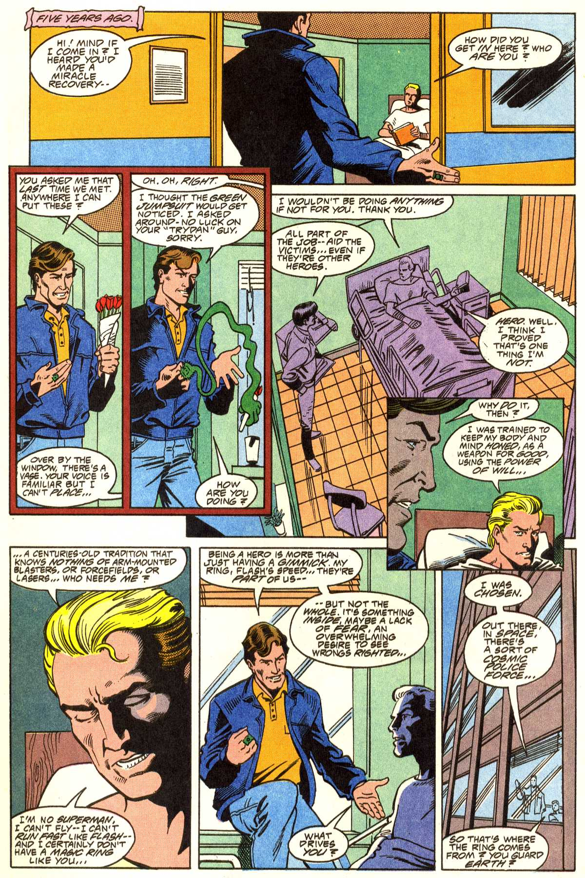 Read online Peter Cannon--Thunderbolt (1992) comic -  Issue #1 - 13