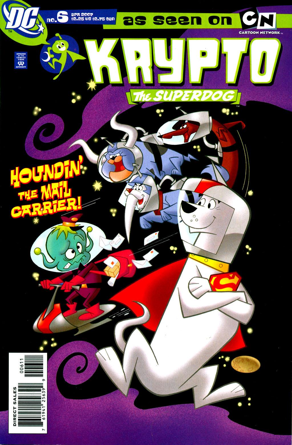 Read online Krypto the Superdog comic -  Issue #6 - 1