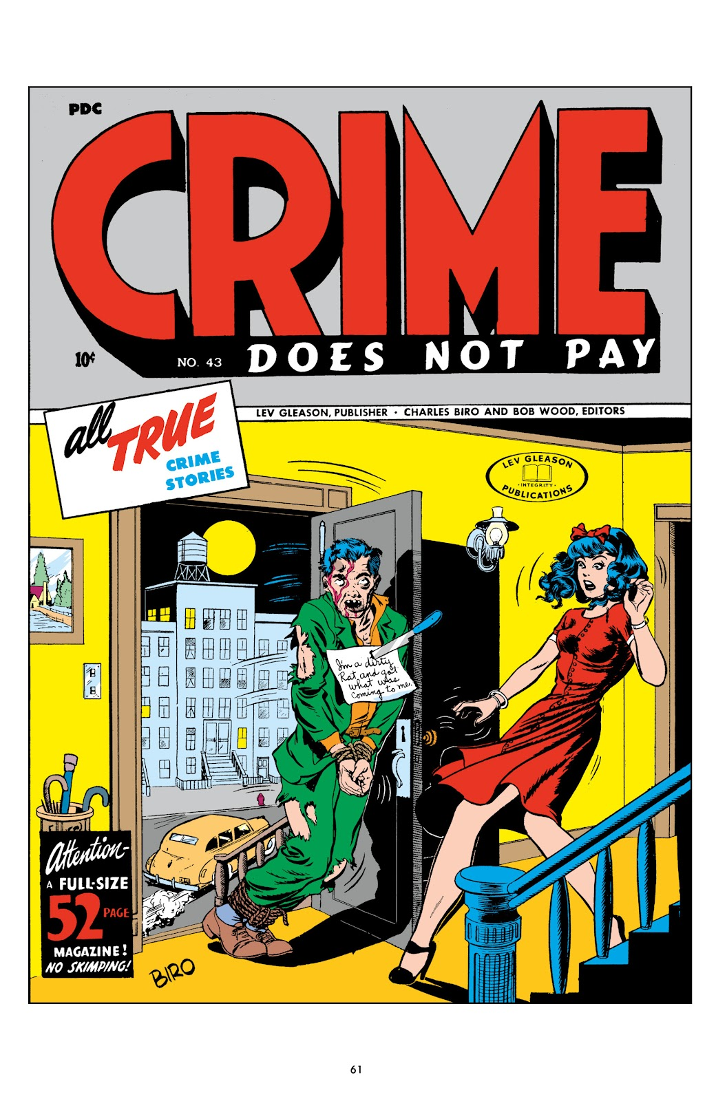 Read online Crime Does Not Pay Archives comic -  Issue # TPB 6 (Part 1) - 63