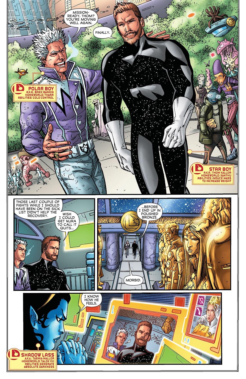 Legion of Super-Heroes (2011) Issue #16 #17 - English 11