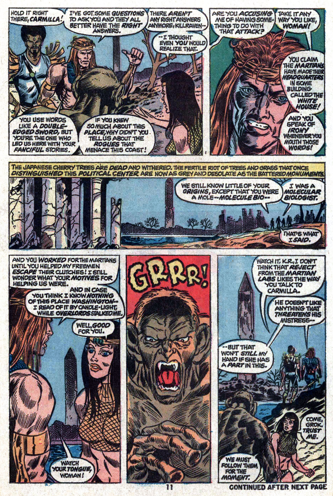 Read online Amazing Adventures (1970) comic -  Issue #22 - 11