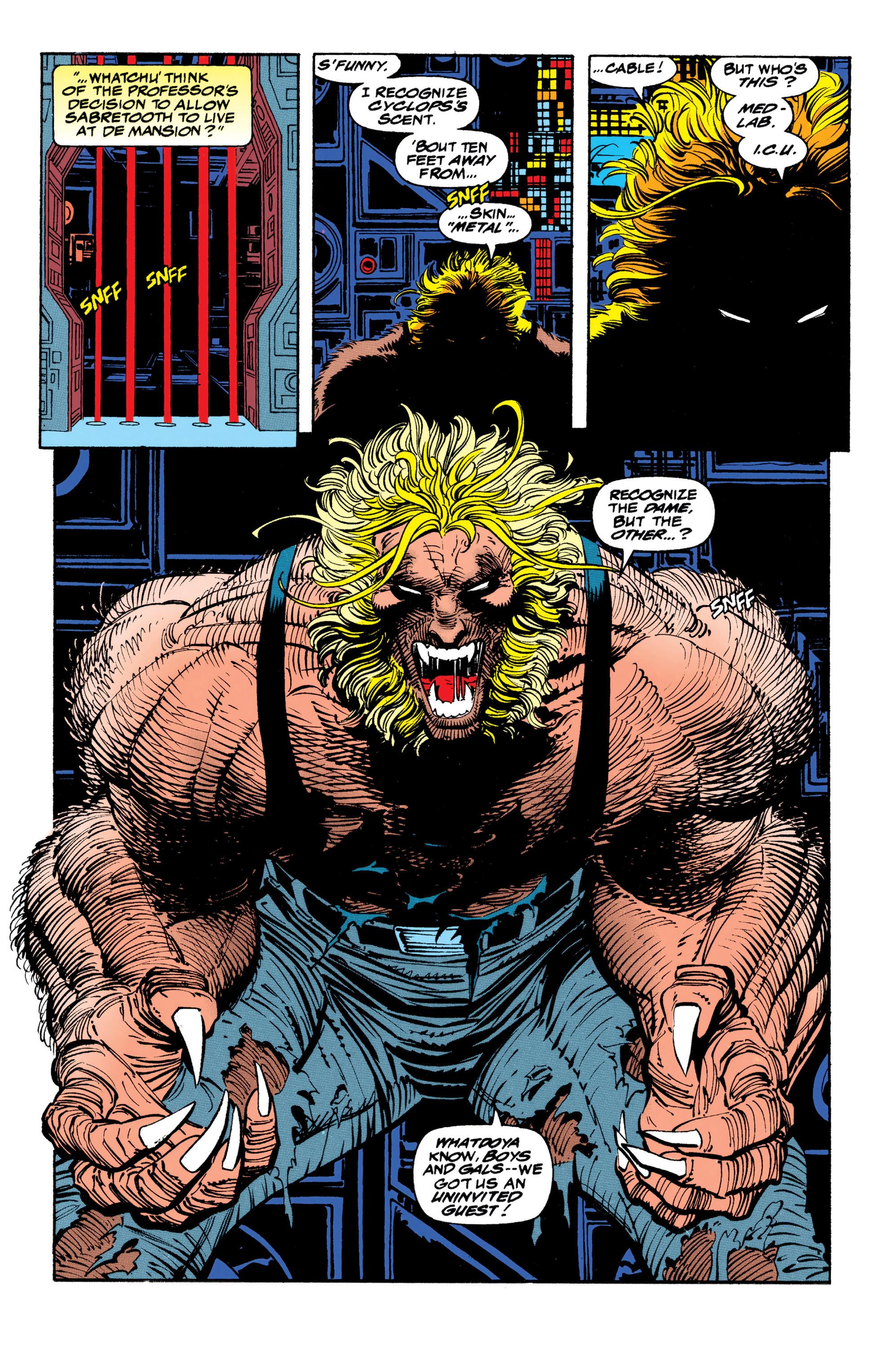 Read online Uncanny X-Men (1963) comic -  Issue #310 - 10