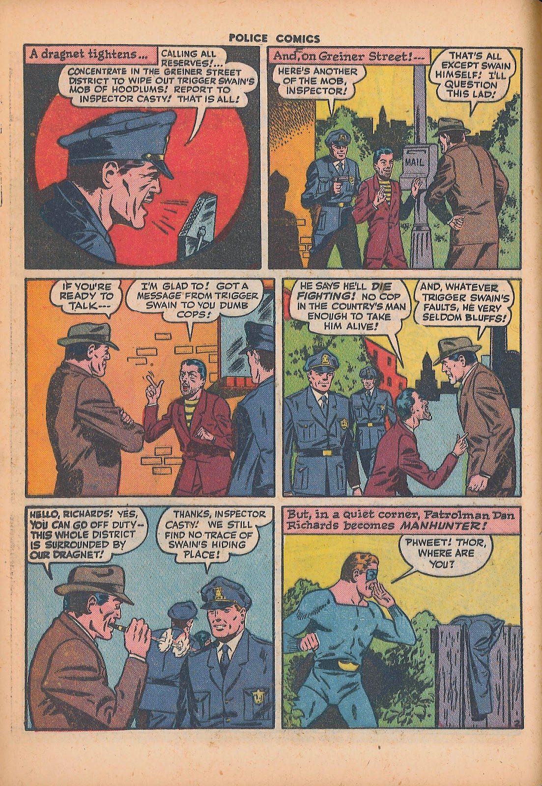 Police Comics issue 44 - Page 20