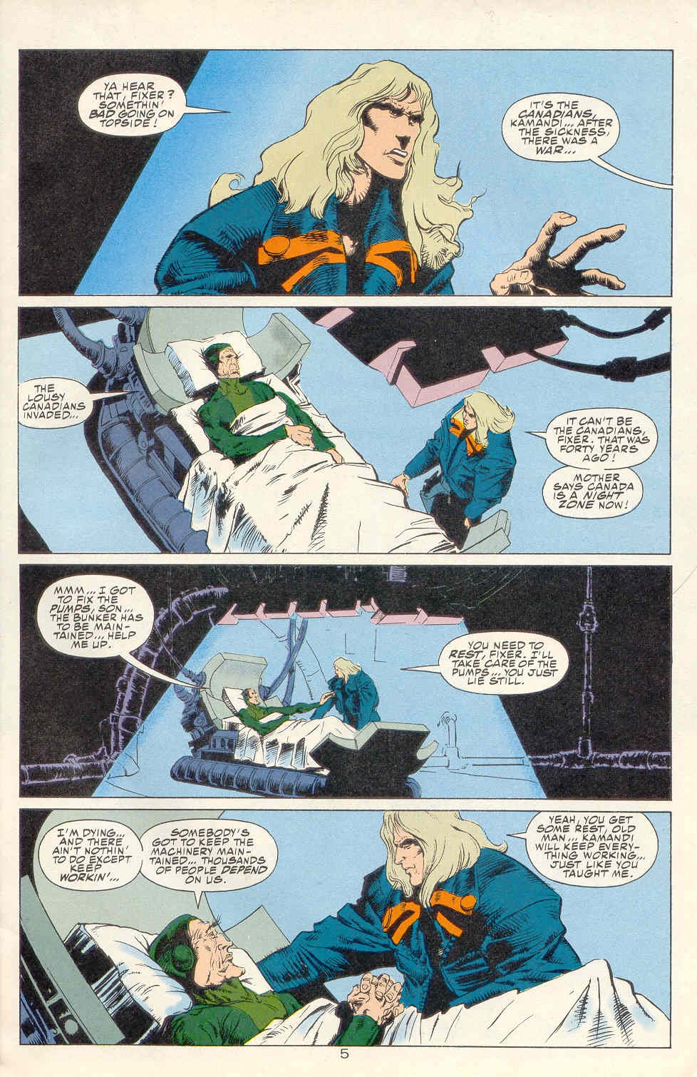 Read online Kamandi: At Earth's End comic -  Issue #1 - 6