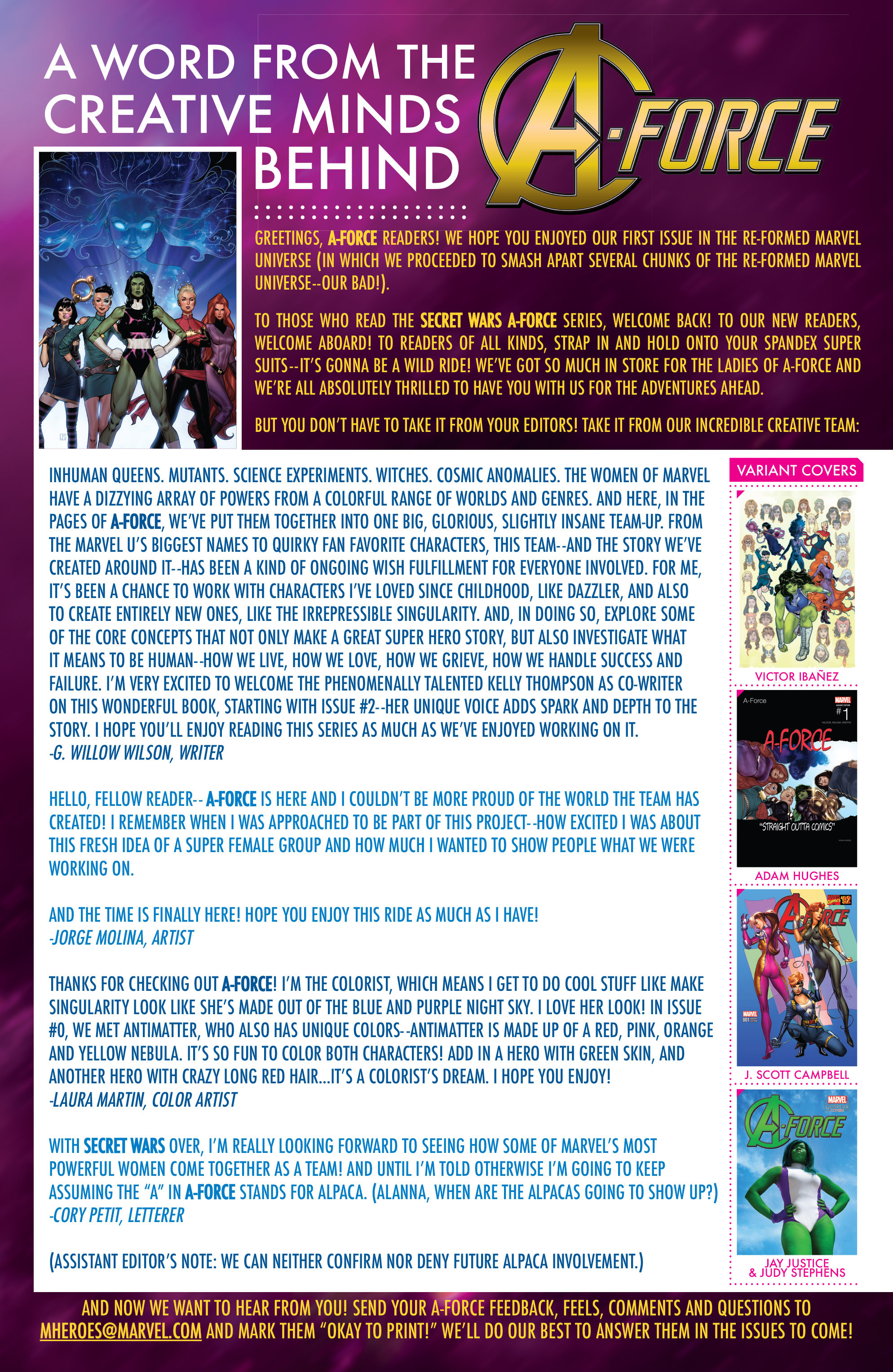 Read online A-Force (2016) comic -  Issue #1 - 22