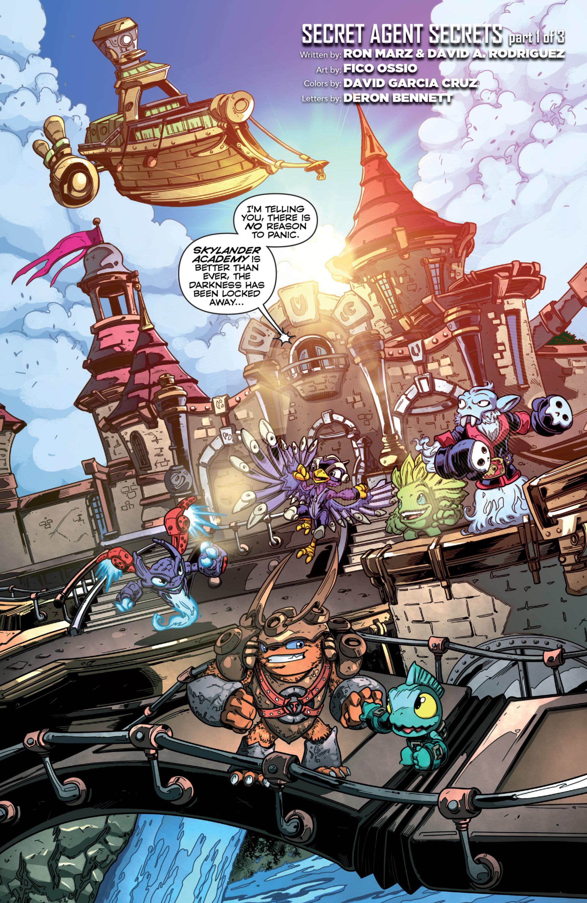 Read online Skylanders Superchargers comic -  Issue #1 - 4