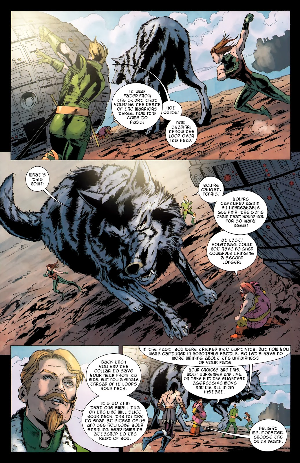 Warriors Three Issue #4 #4 - English 21