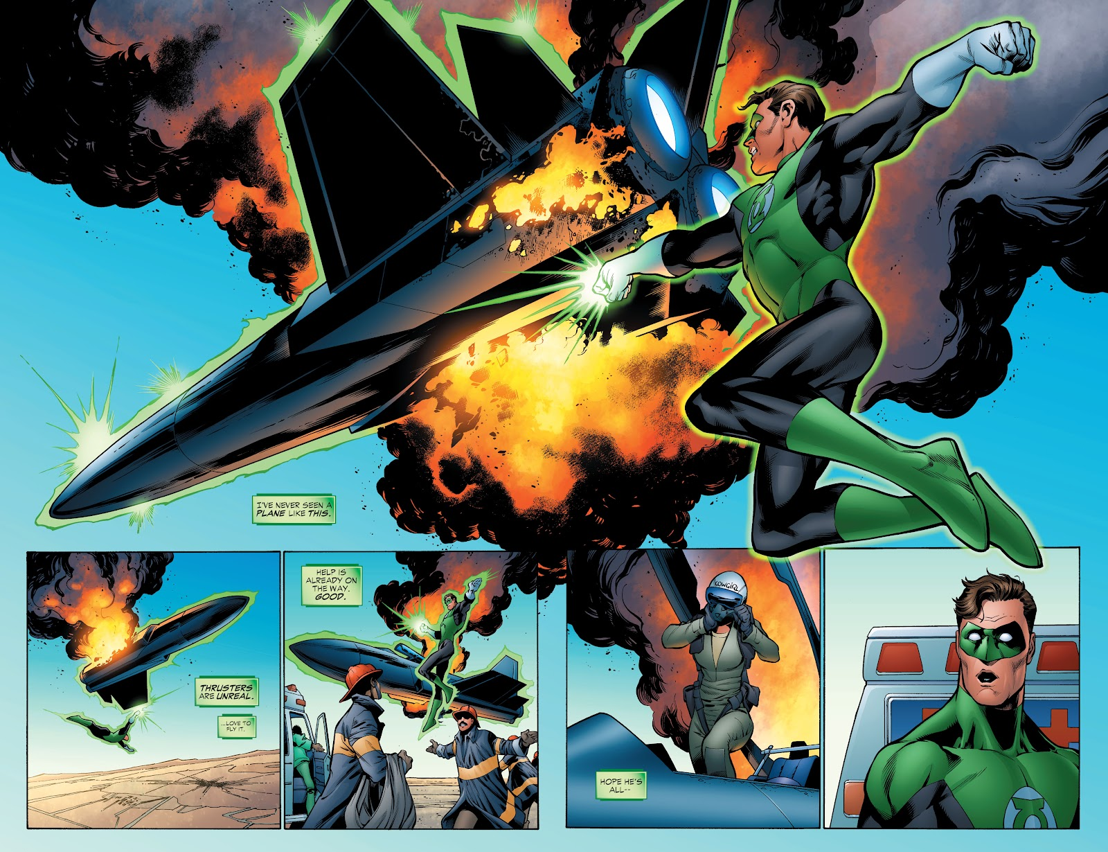 Read online Green Lantern by Geoff Johns comic -  Issue # TPB 1 (Part 4) - 19