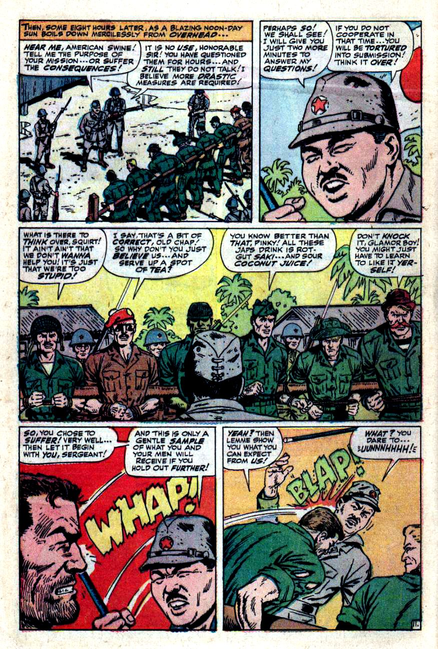 Read online Sgt. Fury comic -  Issue #49 - 16