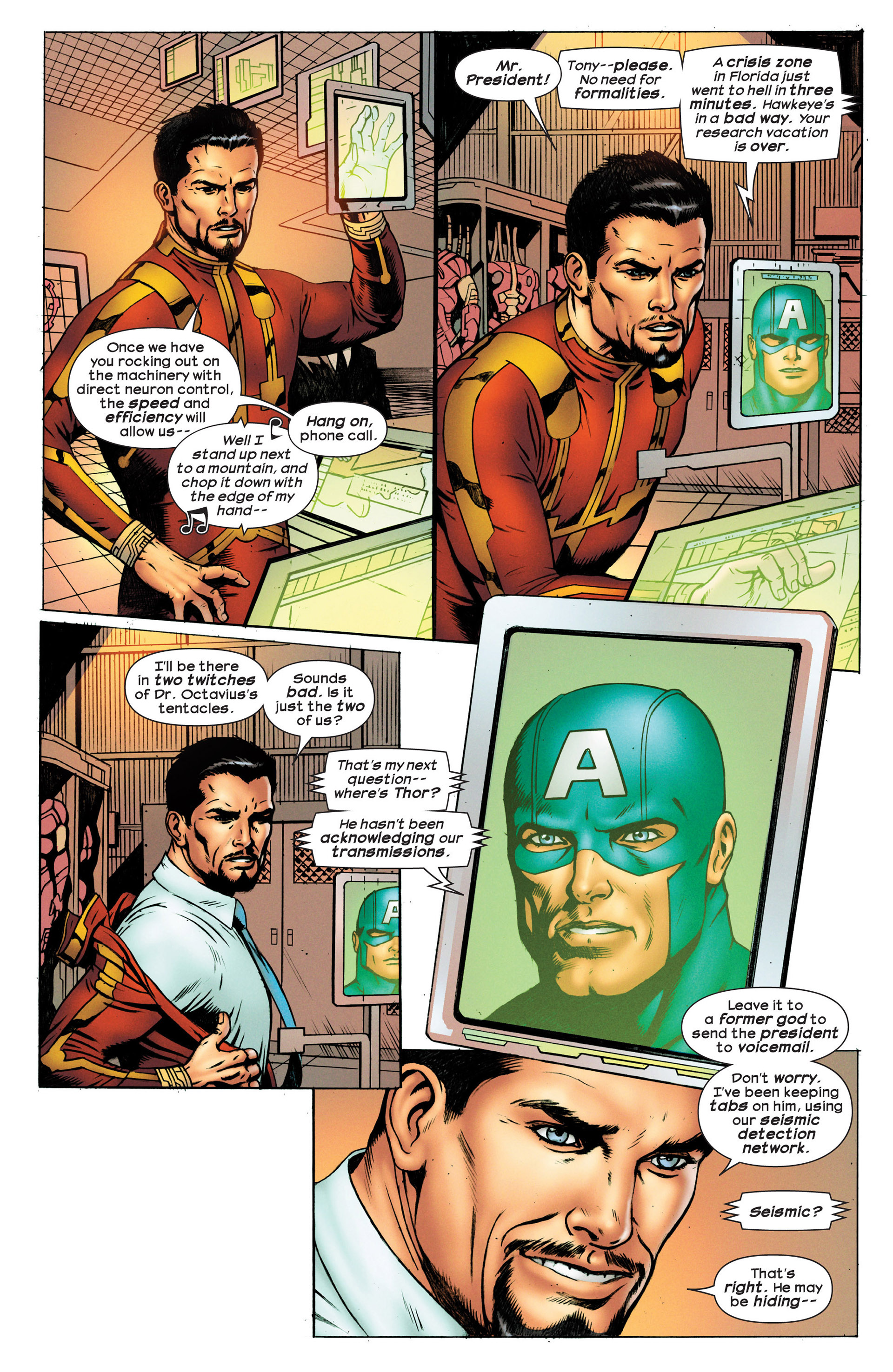 Read online Ultimate Comics Ultimates comic -  Issue #18.1 - 10