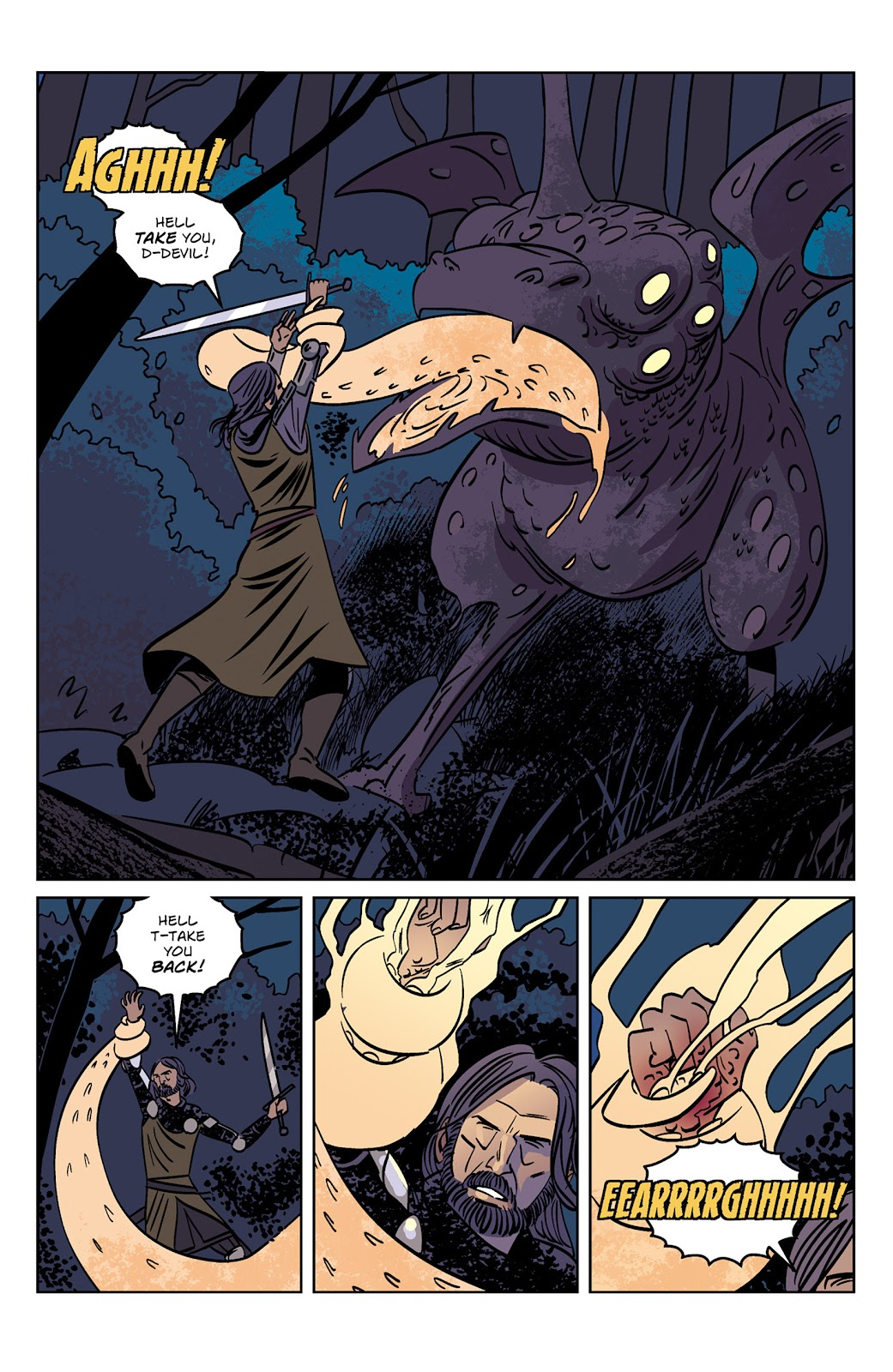 Read online Dark Ages comic -  Issue #1 - 11