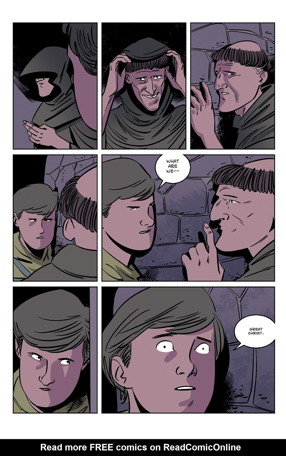 Read online Dark Ages comic -  Issue #2 - 9
