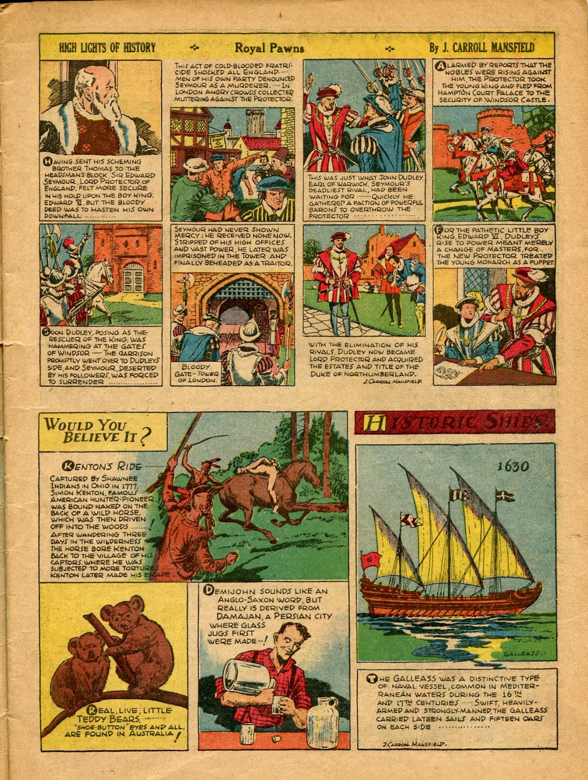 Read online Famous Funnies comic -  Issue #77 - 10
