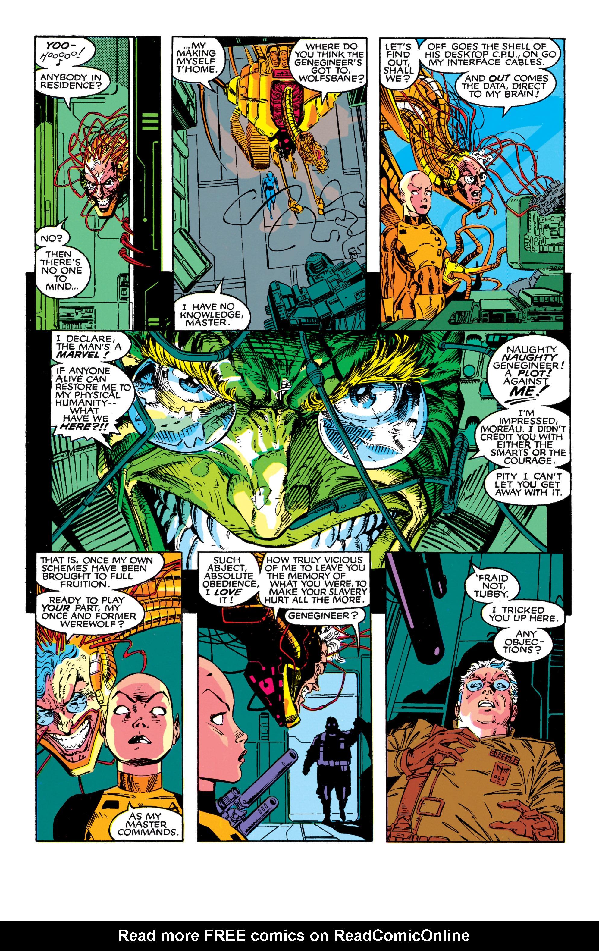 Read online Uncanny X-Men (1963) comic -  Issue #272 - 16
