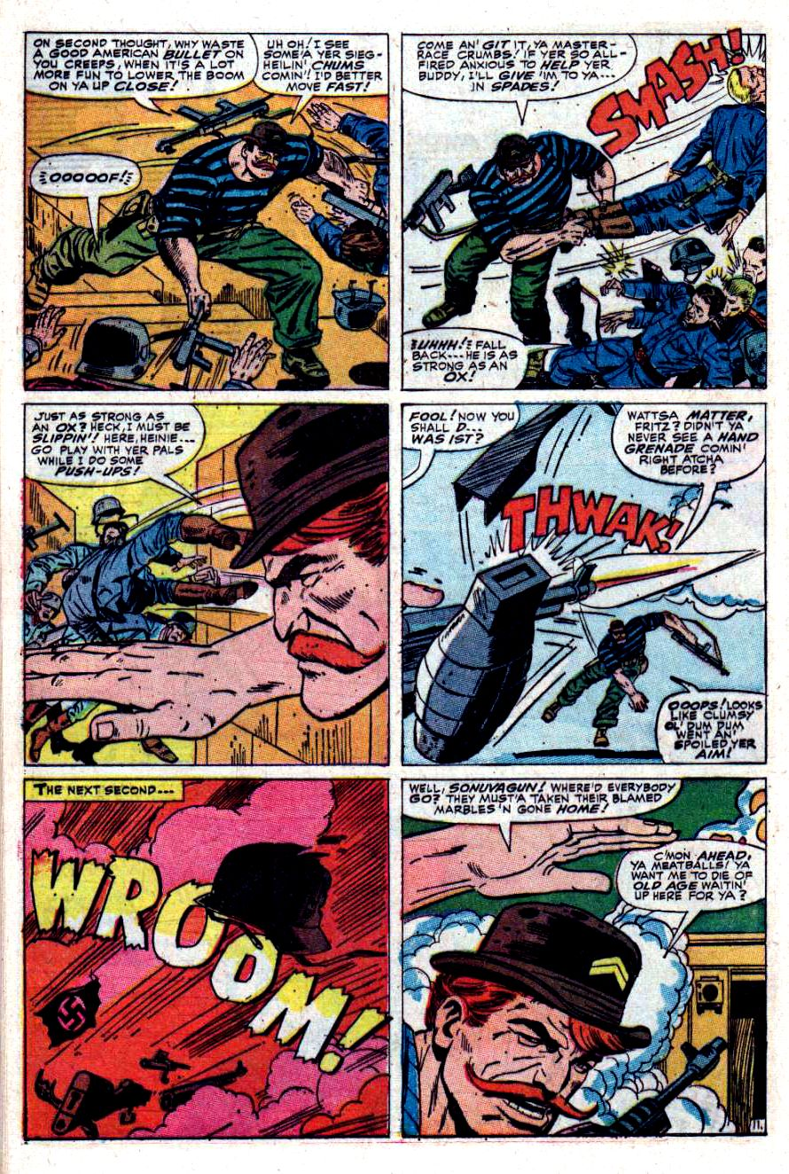 Read online Sgt. Fury comic -  Issue #40 - 16