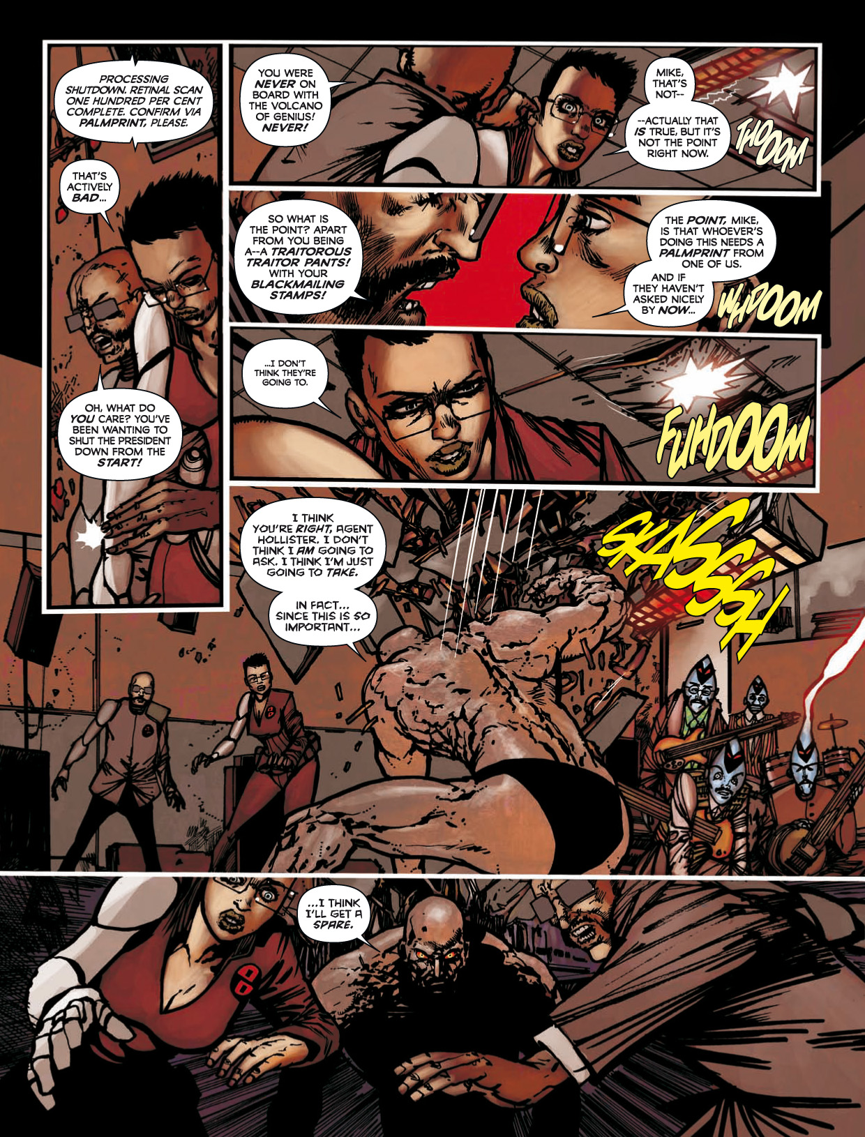 Read online 2000 AD comic -  Issue #1746 - 159