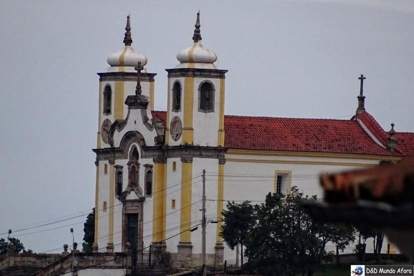Igreja de Nossa Senhora de Santa Efigênia - O que fazer em Ouro Preto (MG)