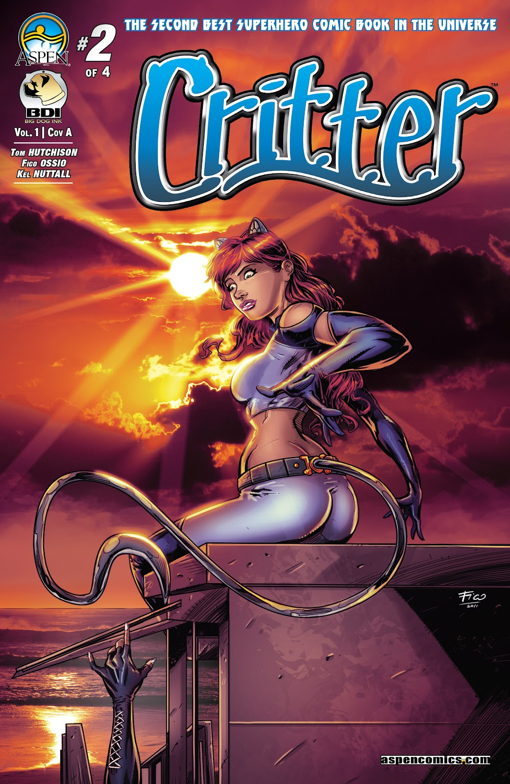 Read online Critter (2015) comic -  Issue #2 - 1