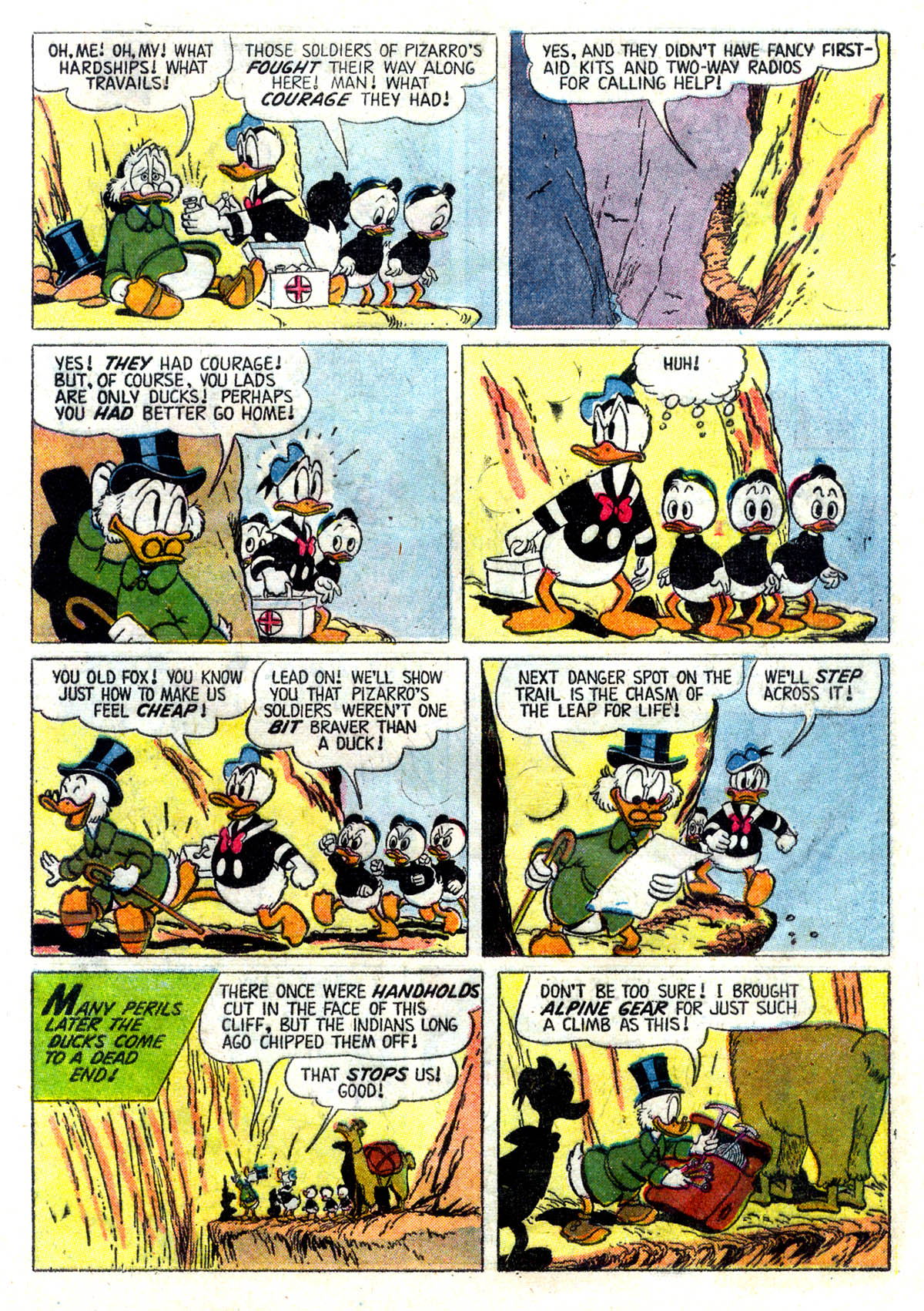 Read online Uncle Scrooge (1953) comic -  Issue #26 - 9