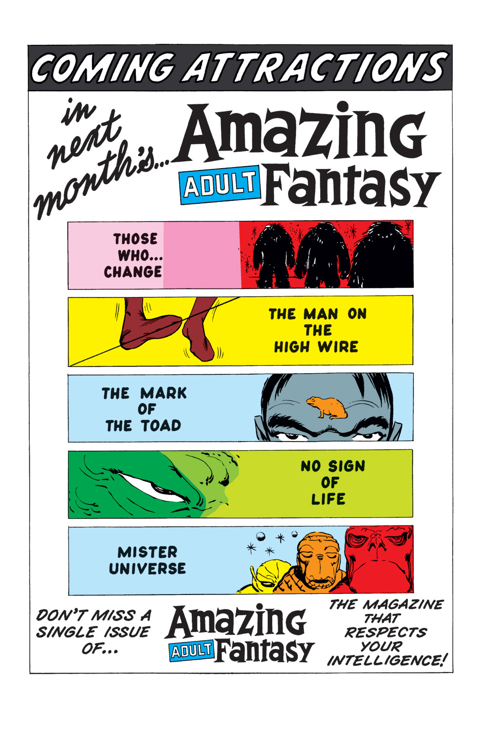 Read online Amazing Adult Fantasy comic -  Issue #9 - 21