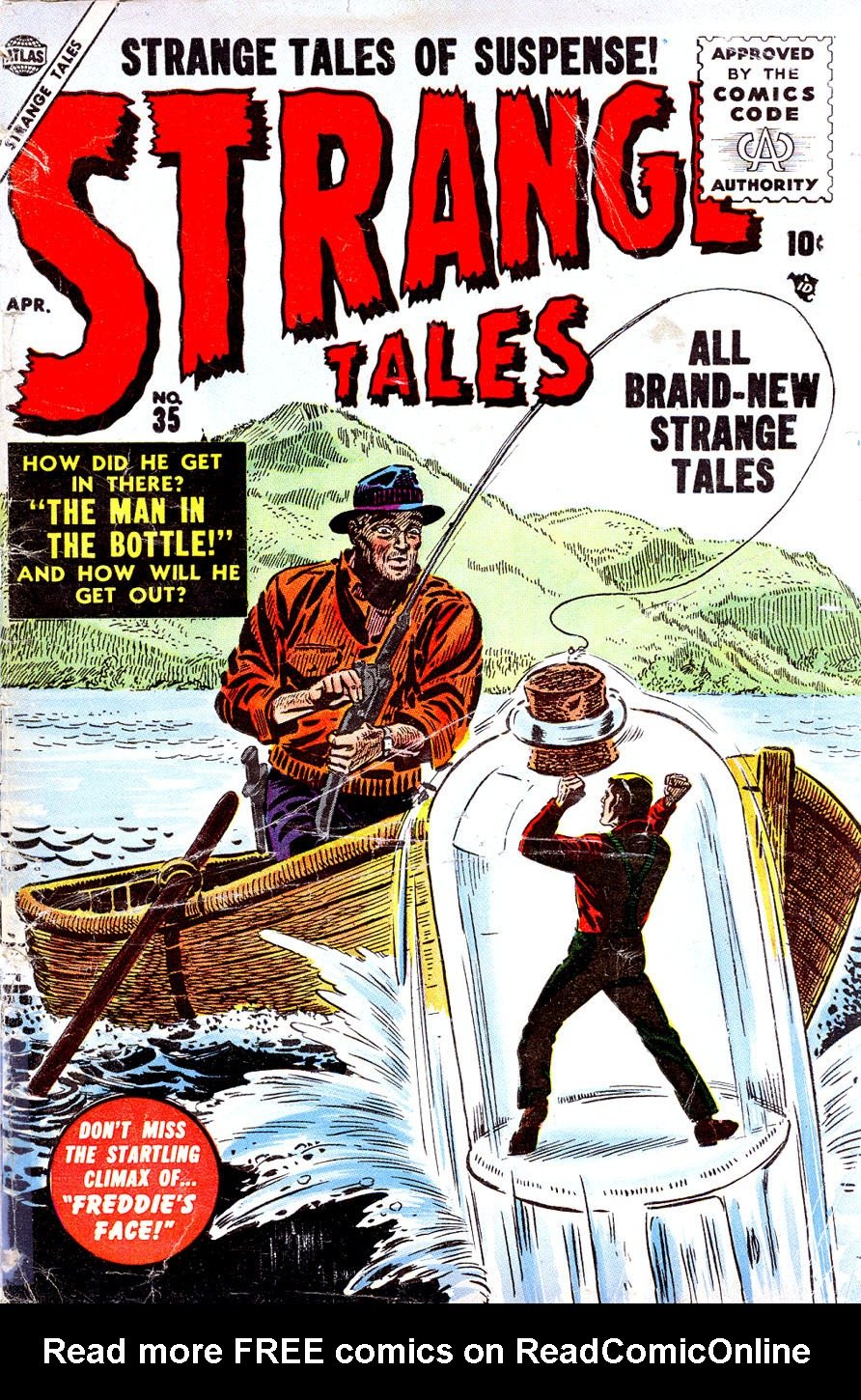 Strange Tales (1951) issue 35 - Page 1