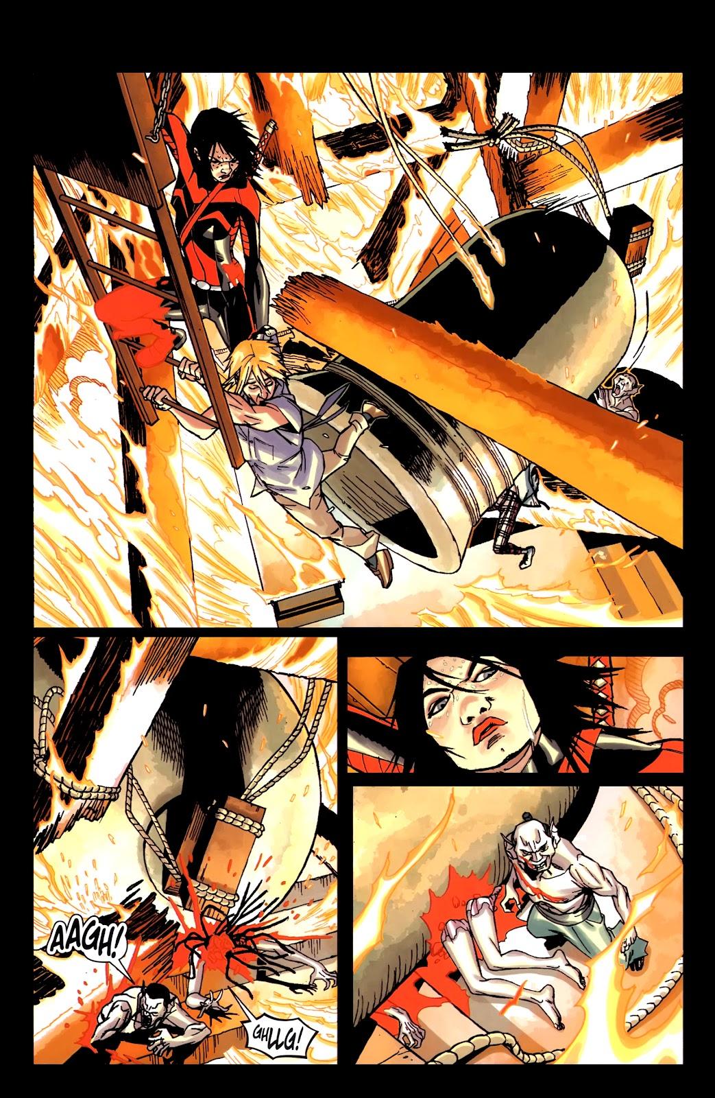 Read online Shinku comic -  Issue #5 - 24