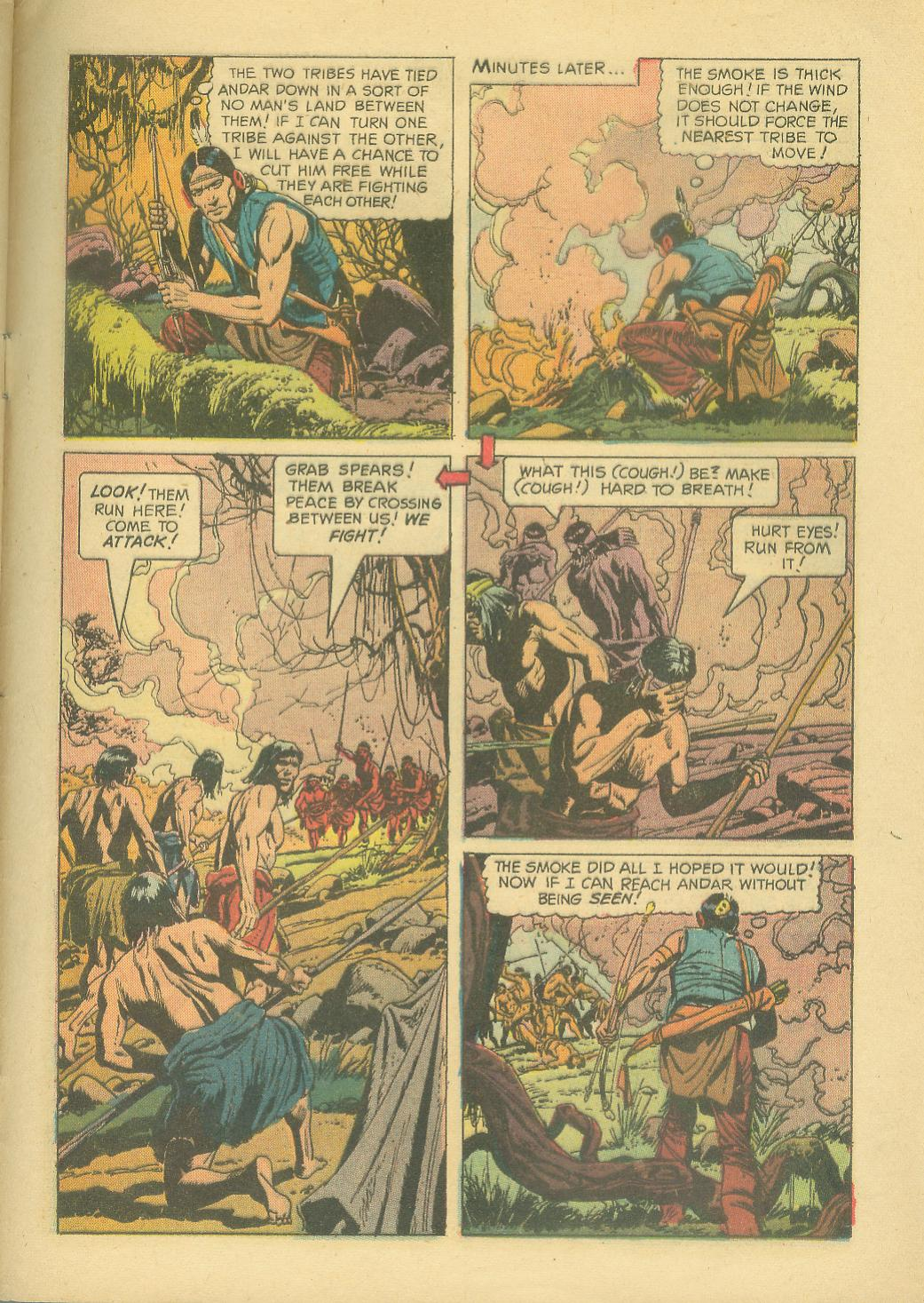 Read online Turok, Son of Stone comic -  Issue #30 - 33