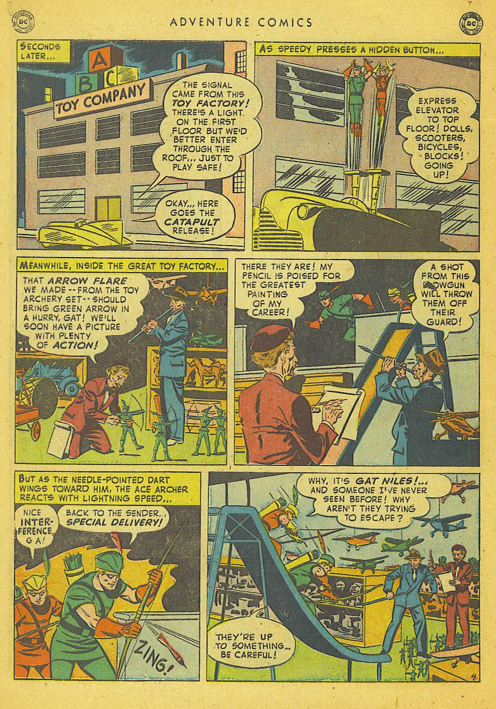 Read online Adventure Comics (1938) comic -  Issue #153 - 43
