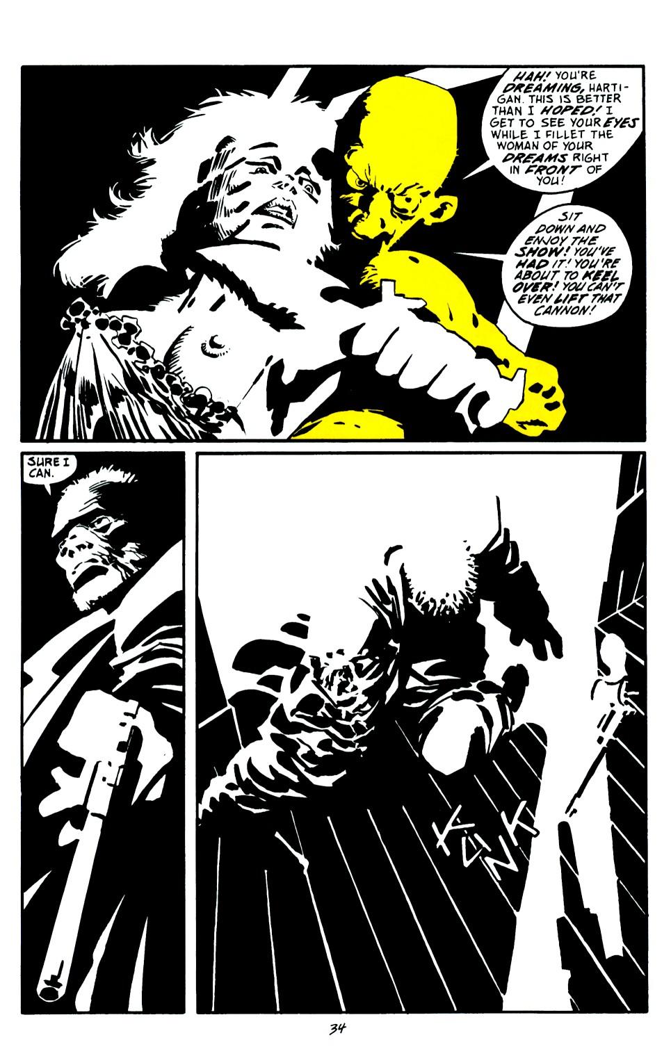Read online Sin City: That Yellow Bastard comic -  Issue #6 - 34