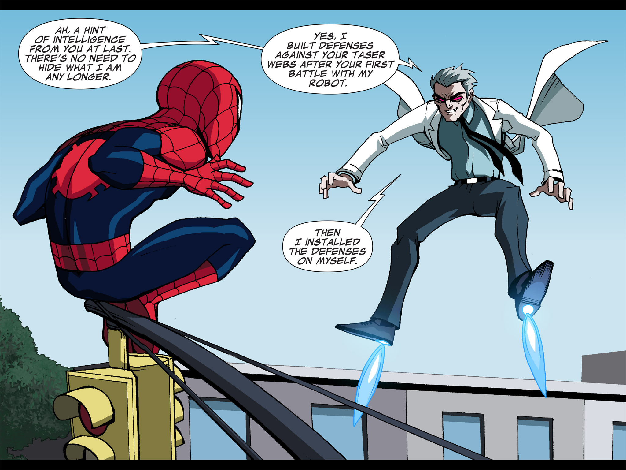 Read online Ultimate Spider-Man (Infinite Comics) (2015) comic -  Issue #5 - 26