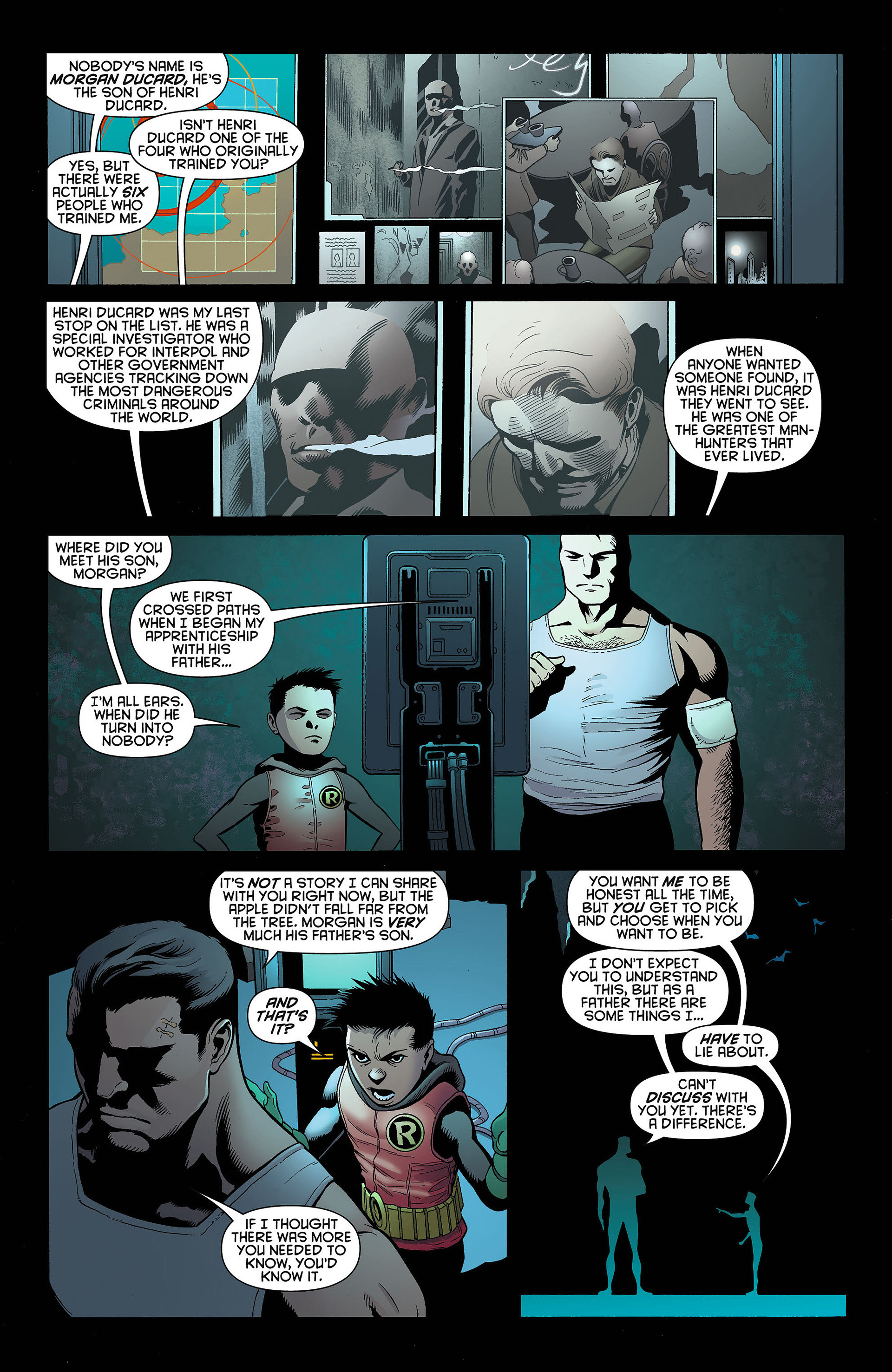 Read online Batman and Robin (2011) comic -  Issue #4 - 16
