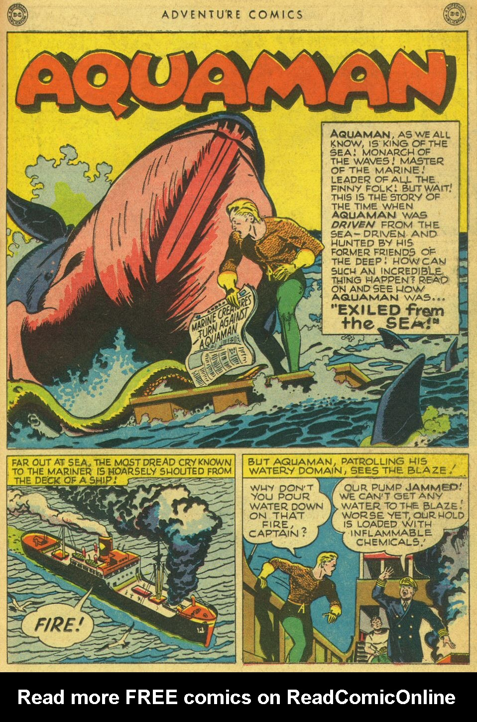 Read online Adventure Comics (1938) comic -  Issue #134 - 29