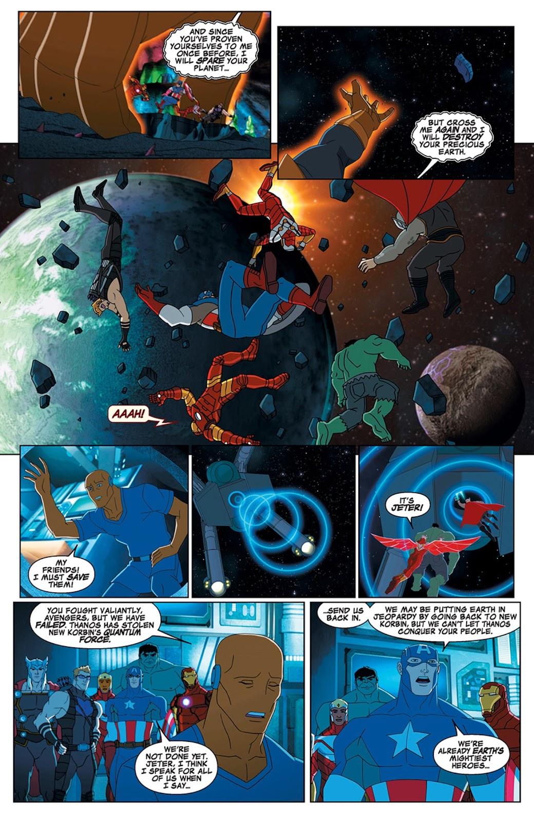 Read online Marvel Universe Avengers Assemble Season 2 comic -  Issue #15 - 21