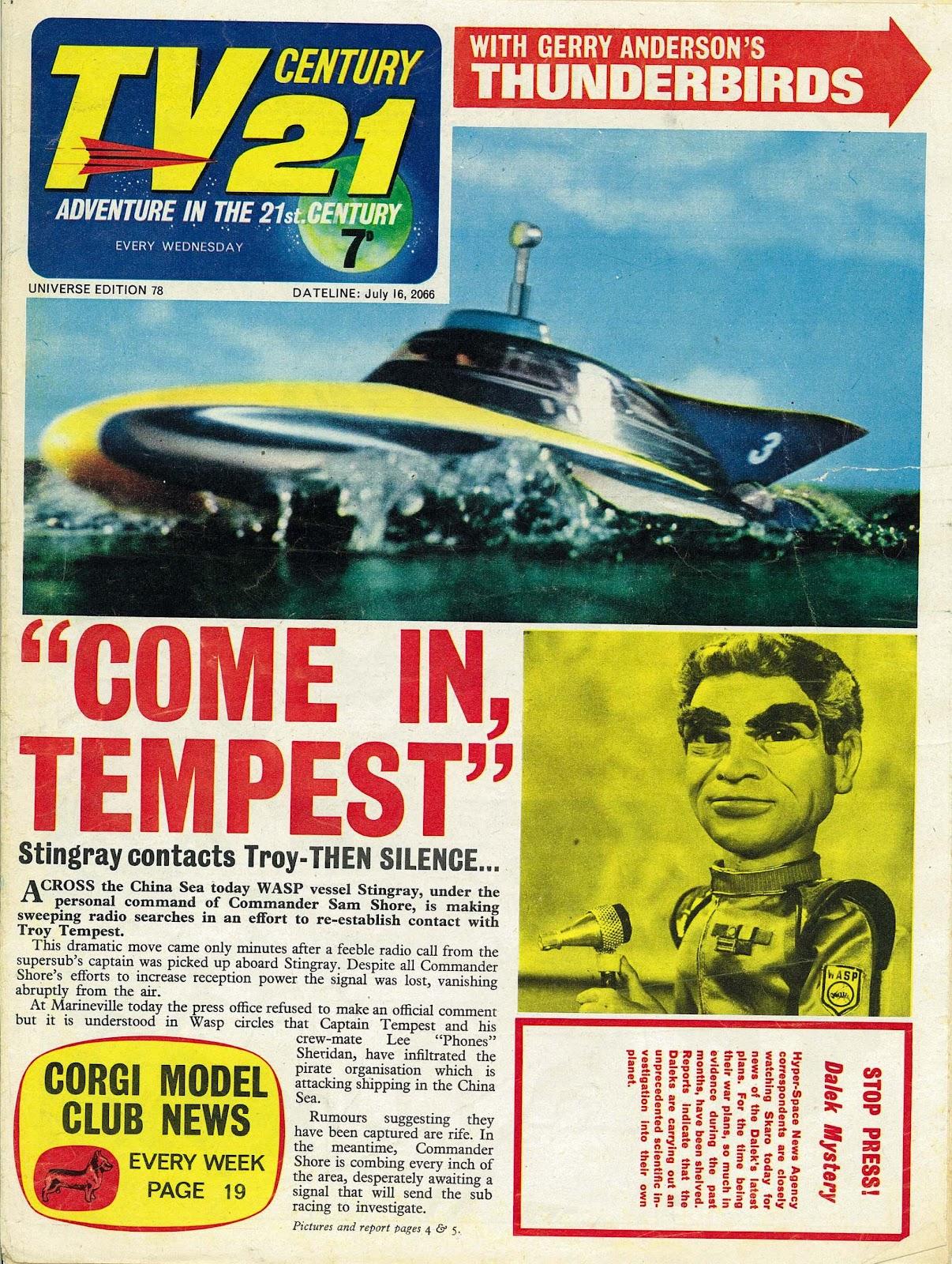 TV Century 21 (TV 21) 78 Page 1