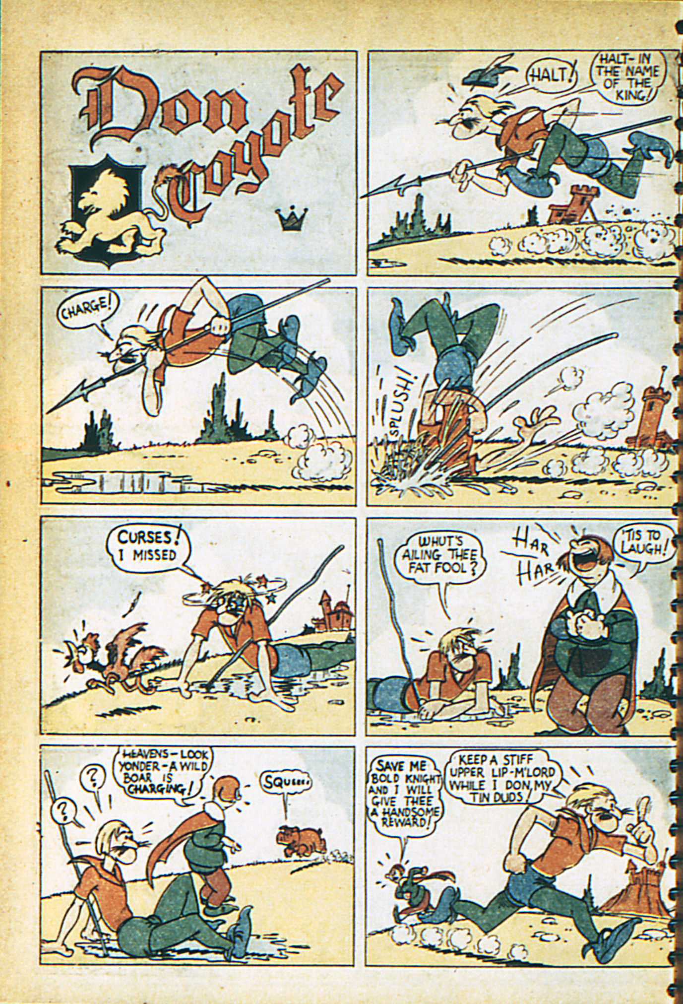 Read online Adventure Comics (1938) comic -  Issue #29 - 43