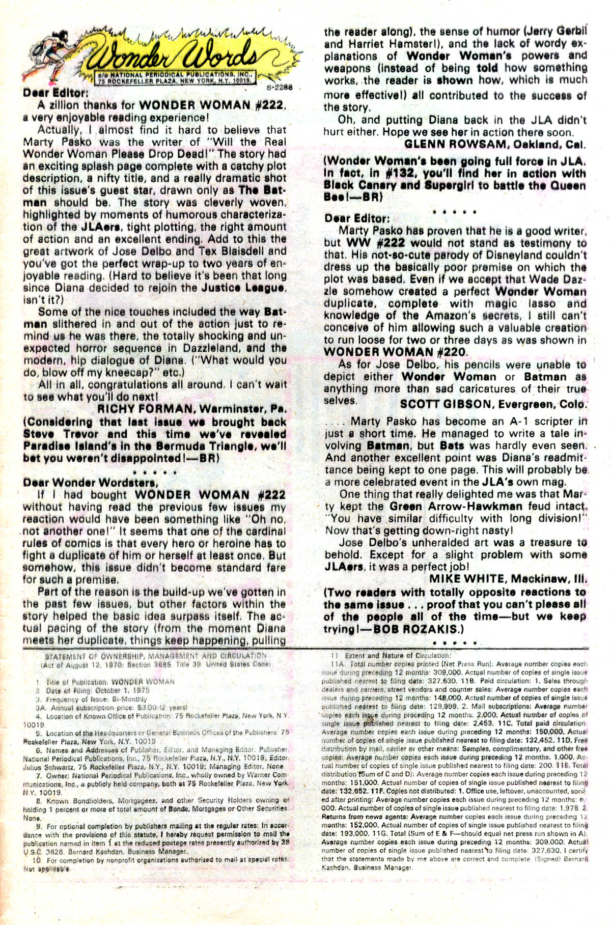 Read online Wonder Woman (1942) comic -  Issue #224 - 23