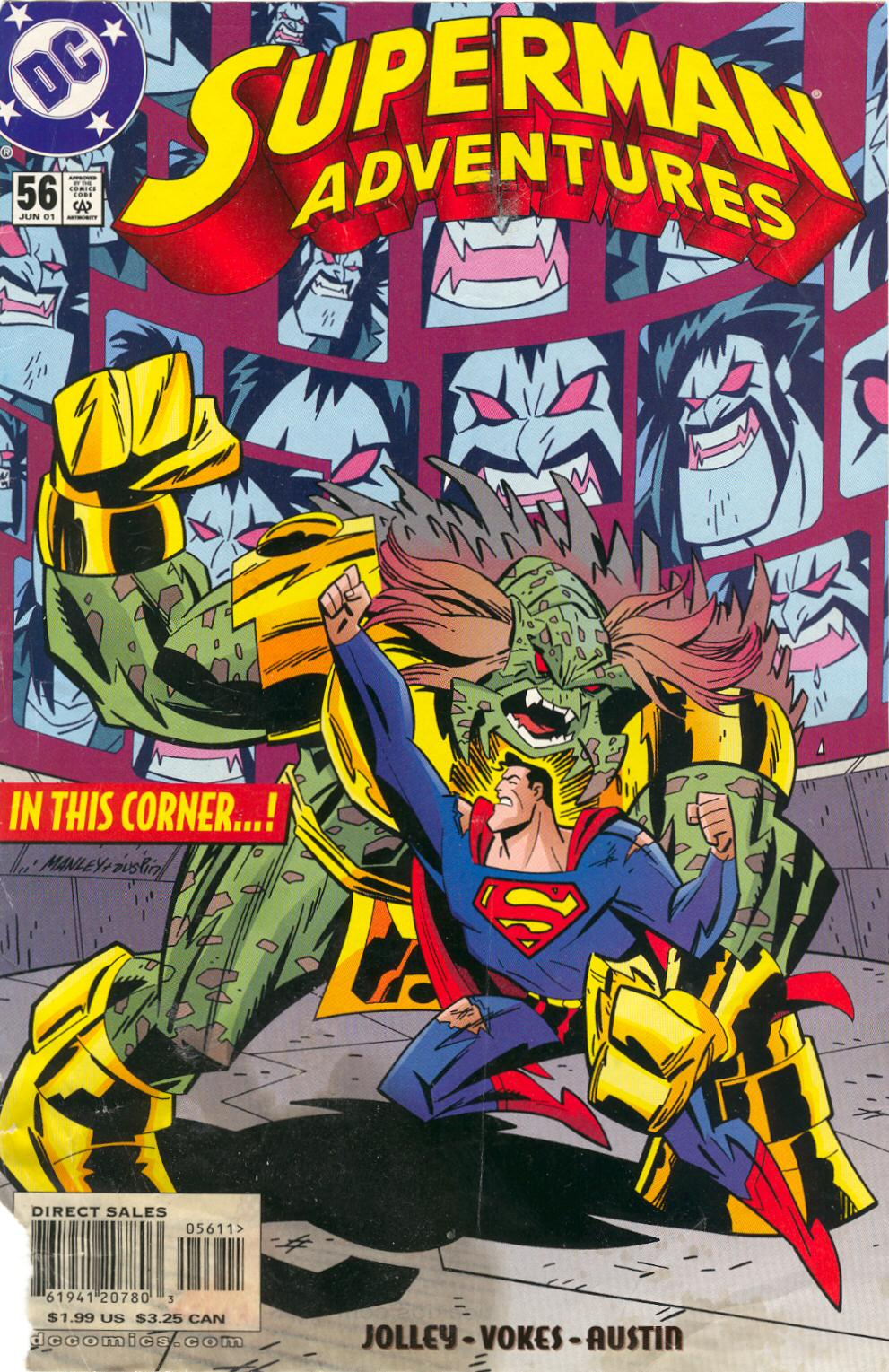Superman Adventures 56 Page 1