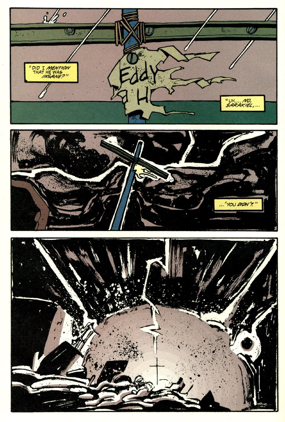 Read online Ted McKeever's Metropol comic -  Issue #8 - 28